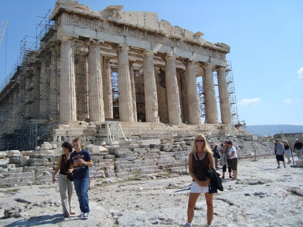 The Acropolis-Athens Greece